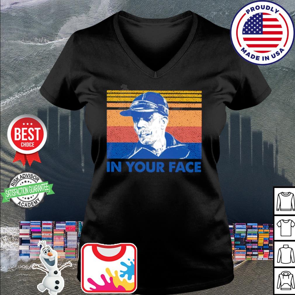 Ed Gein your face vintage s v-neck t-shirt