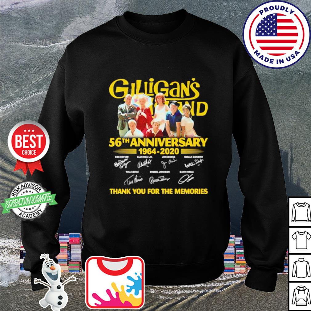 Gilligan's Island 56th Anniversary 1964-2020 thank you for the memories s sweater