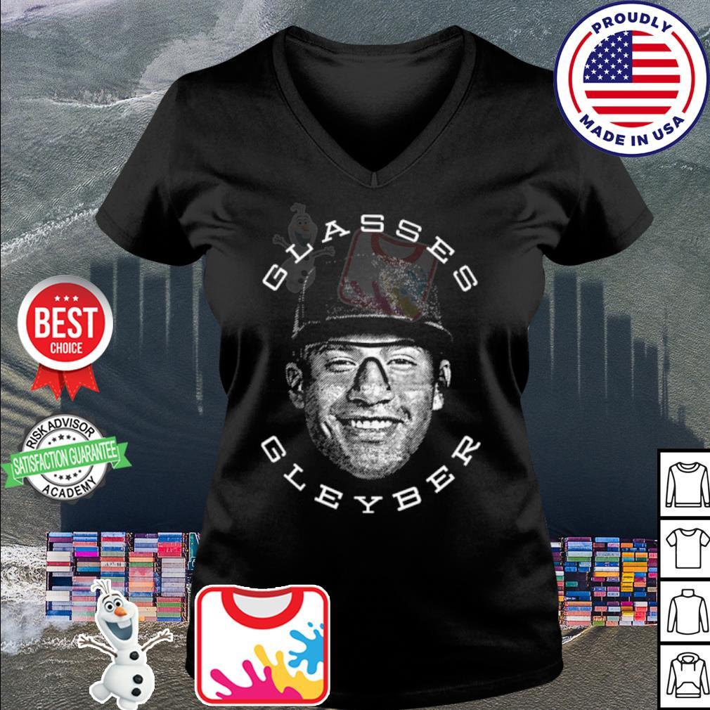 Gleyber Torres Glasses Gleyber Baseball s v-neck t-shirt