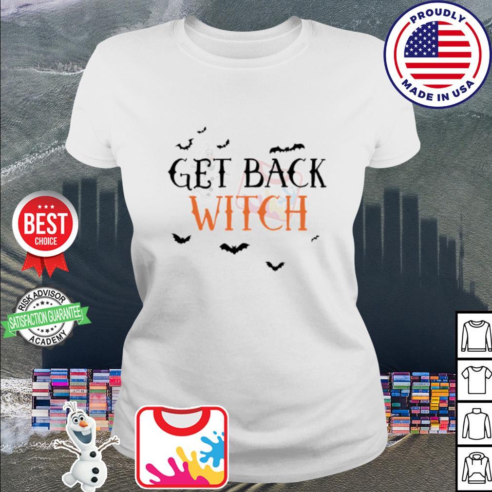 Halloween get black witch s ladies tee