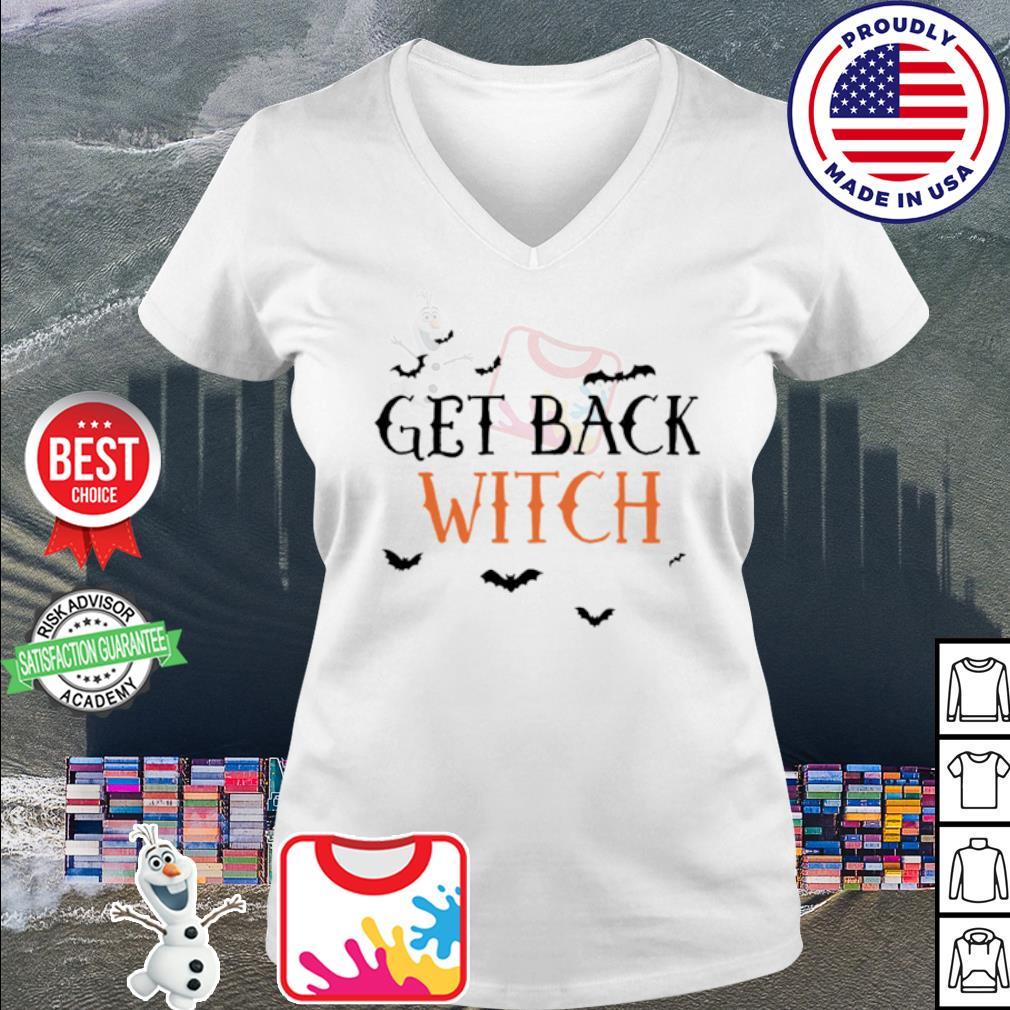 Halloween get black witch s v-neck t-shirt