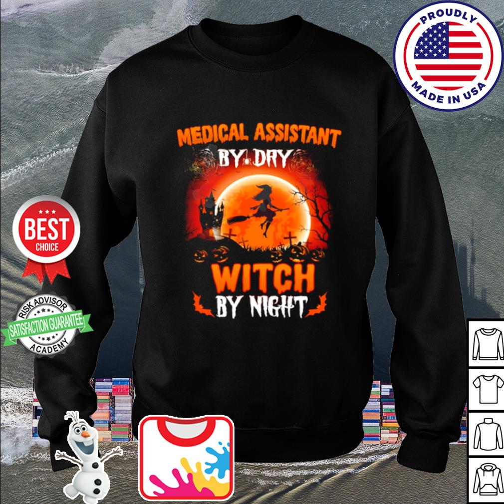 Halloween Medical assistant by dray witch by night s sweater