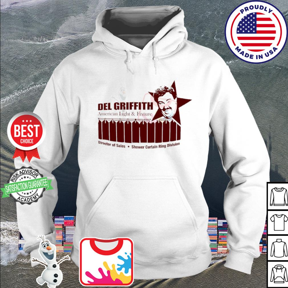 John candy del griffith American light and fixture s hoodie