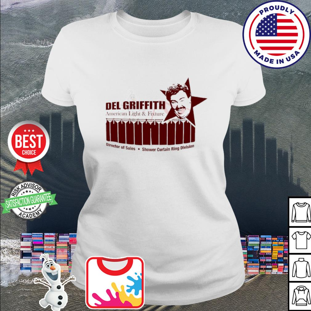 John candy del griffith American light and fixture s ladies tee