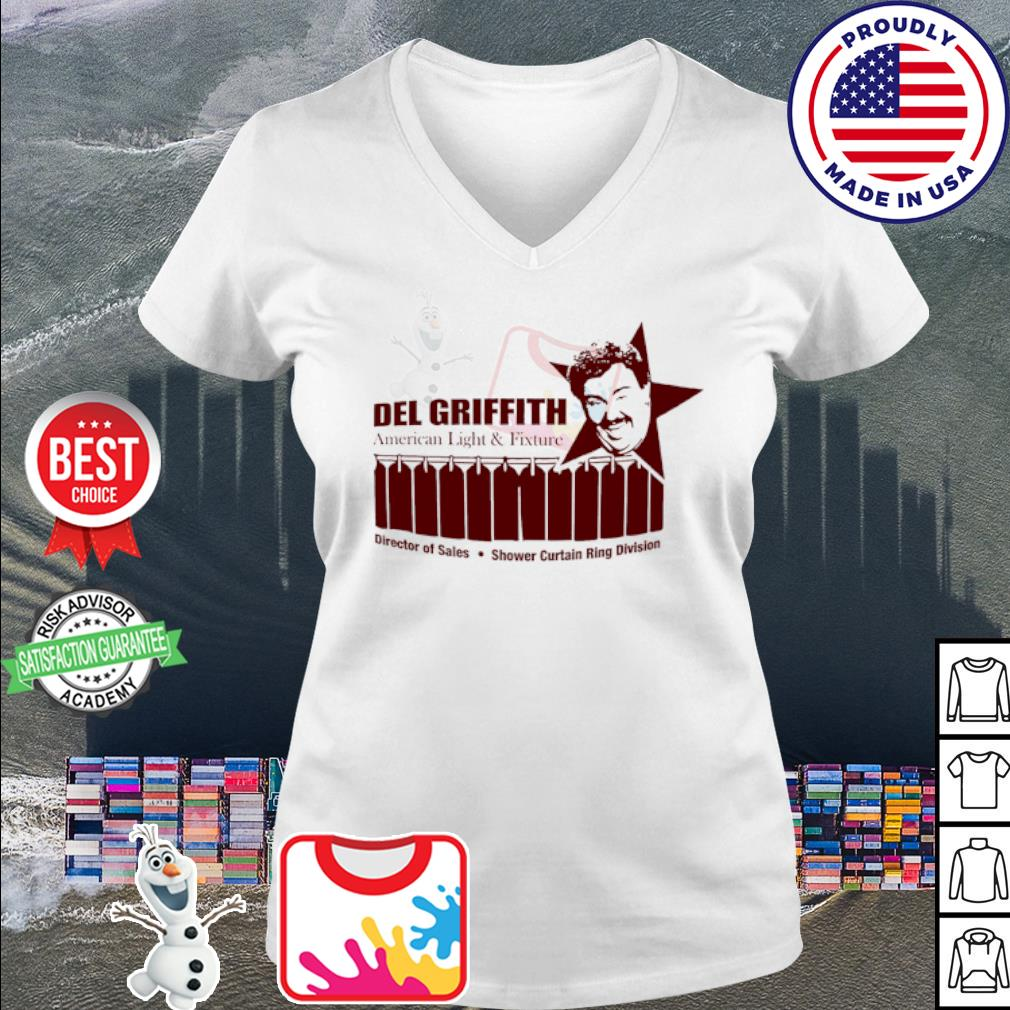 John candy del griffith American light and fixture s v-neck t-shirt