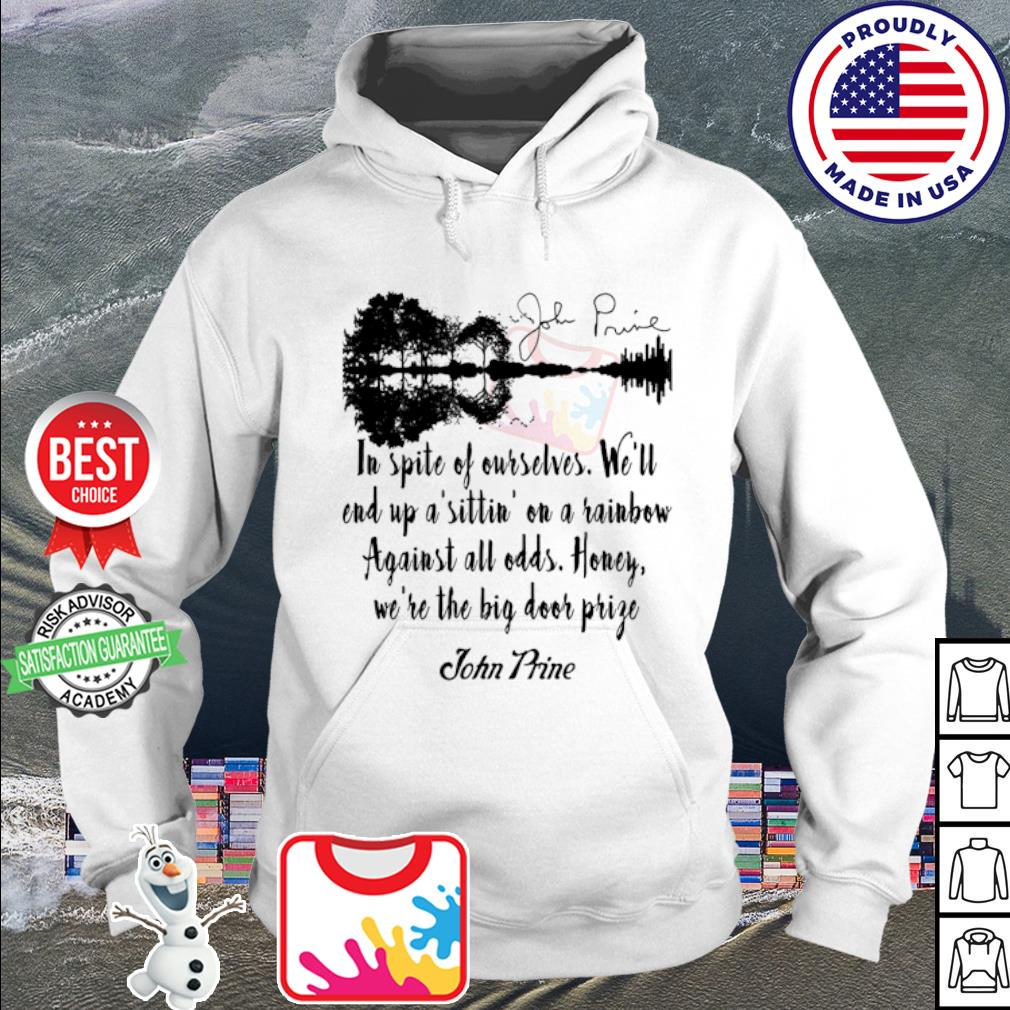 John Prine in spite of ourselves Guitar signature s hoodie