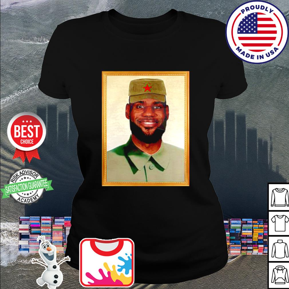 LeBron China Mao Zedong s ladies tee