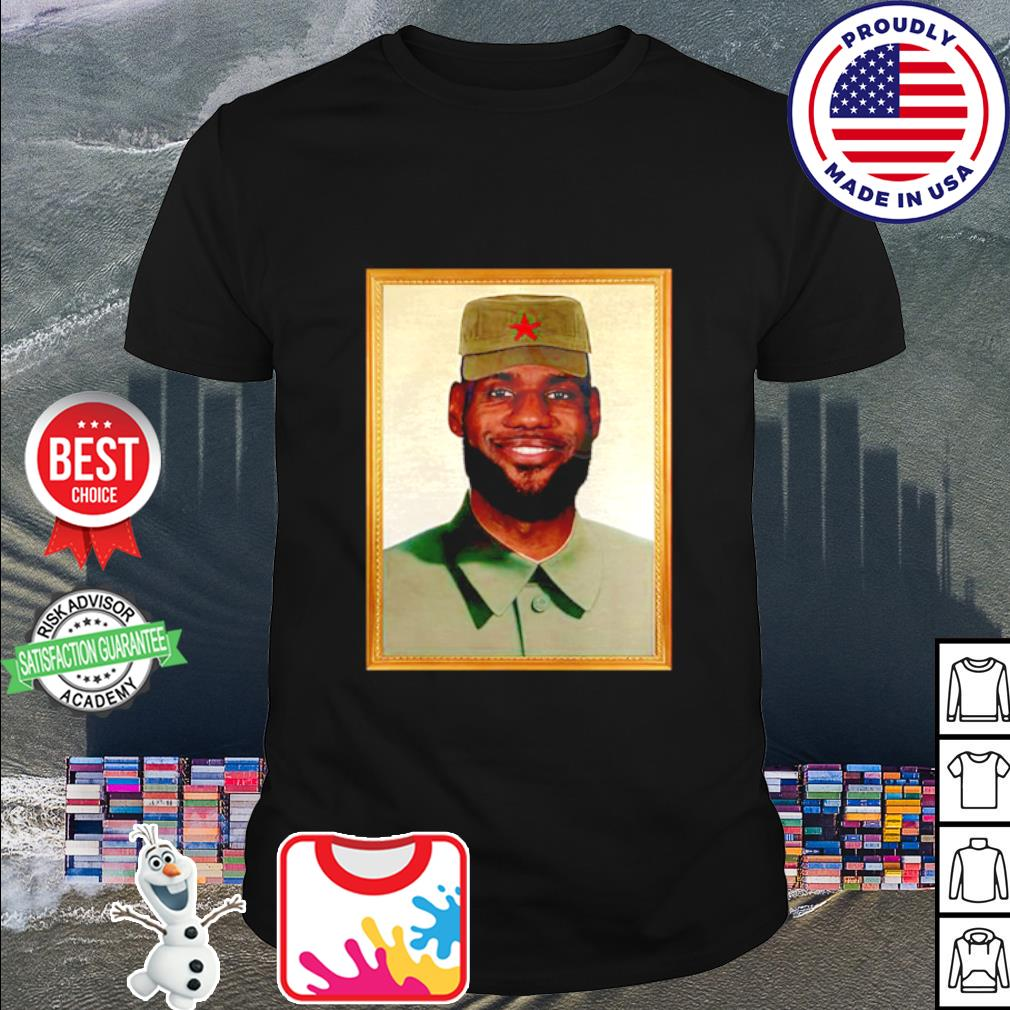 LeBron China Mao Zedong shirt