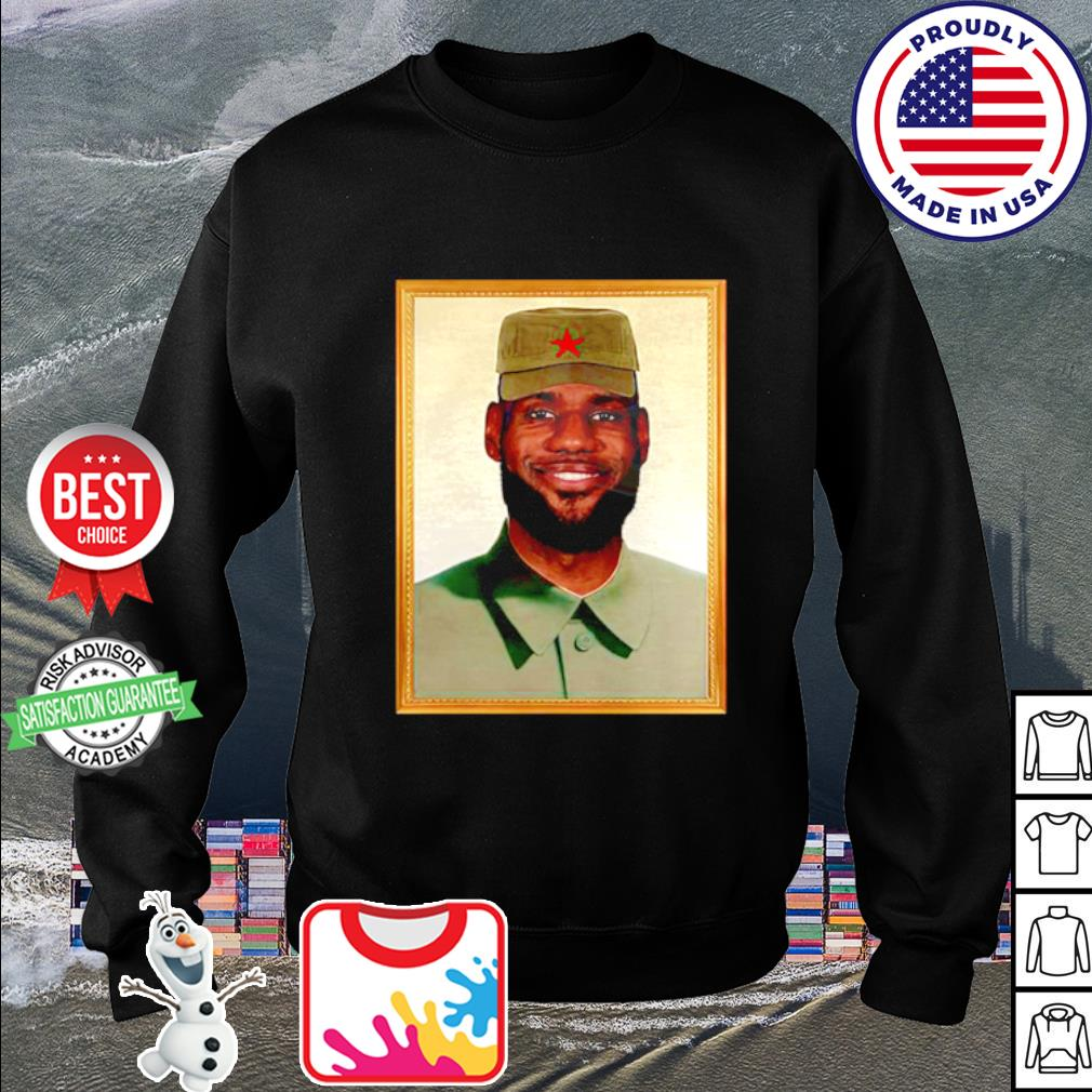 LeBron China Mao Zedong s sweater