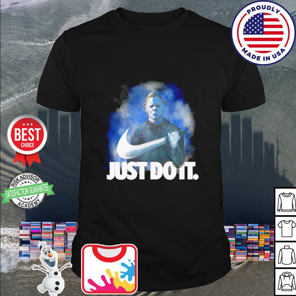 Michael Myers Just do it Nike Halloween shirt