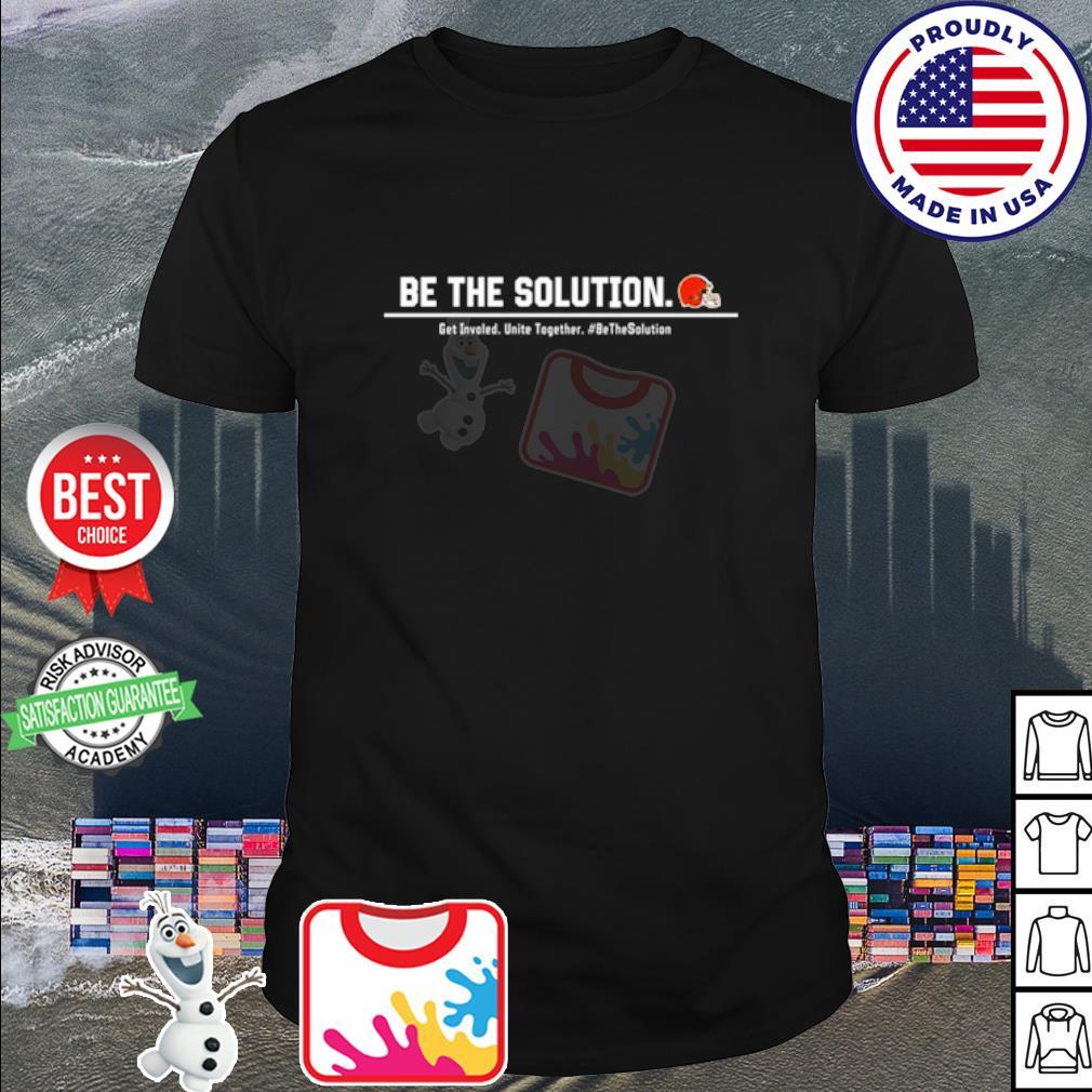 Odell Beckham be the solution get Involved unite together shirt