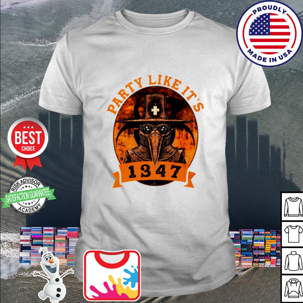 Party like it 1347 funny Boardgame shirt