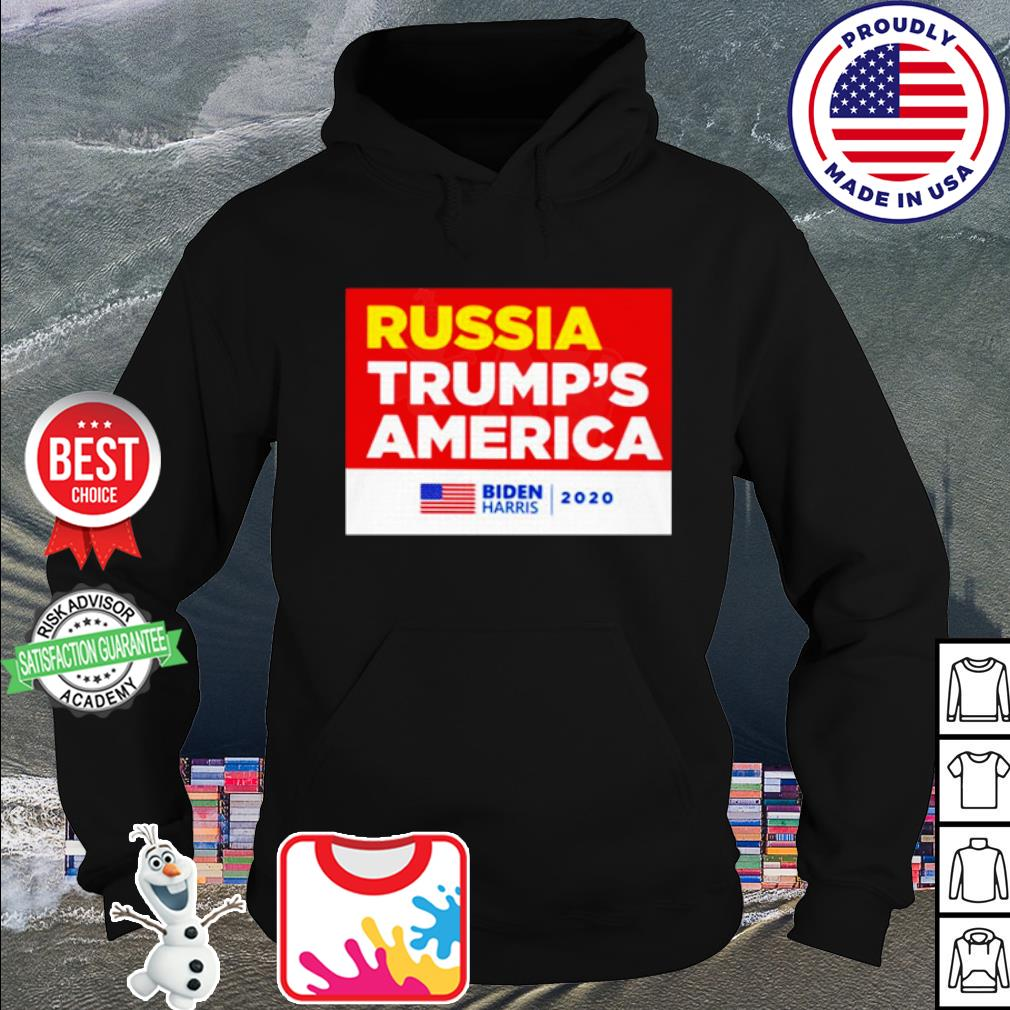 Russia Trump's America Joe Biden harris 2020 s hoodie