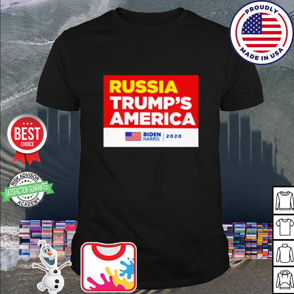 Russia Trump's America Joe Biden harris 2020 shirt