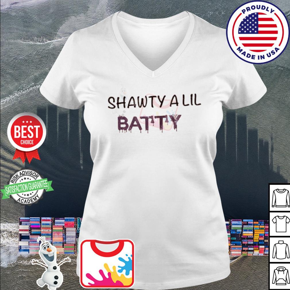 Shawty a lil batty s v-neck t-shirt