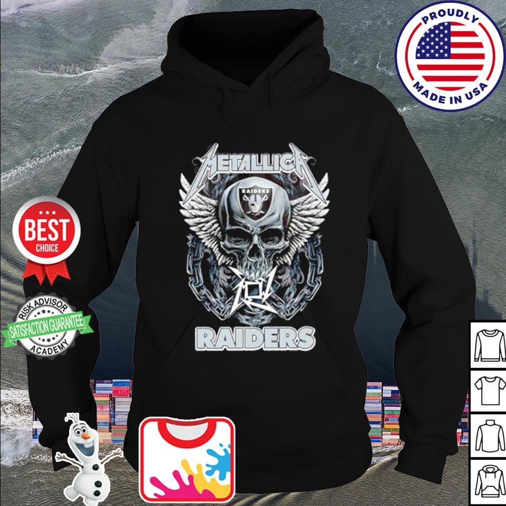 Skull Metallica Oakland Raiders s hoodie