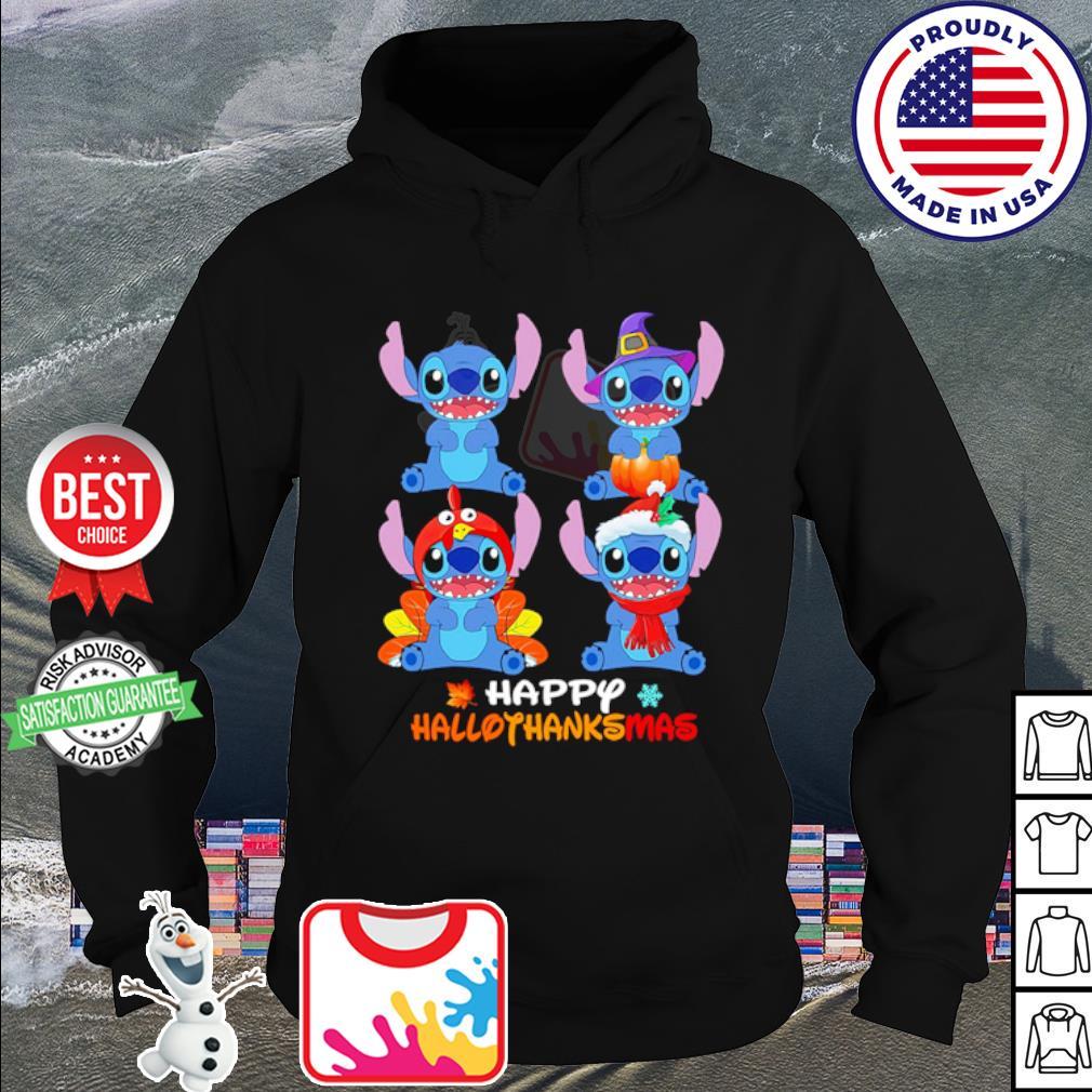 Stitch Happy Hallothanksmas s hoodie
