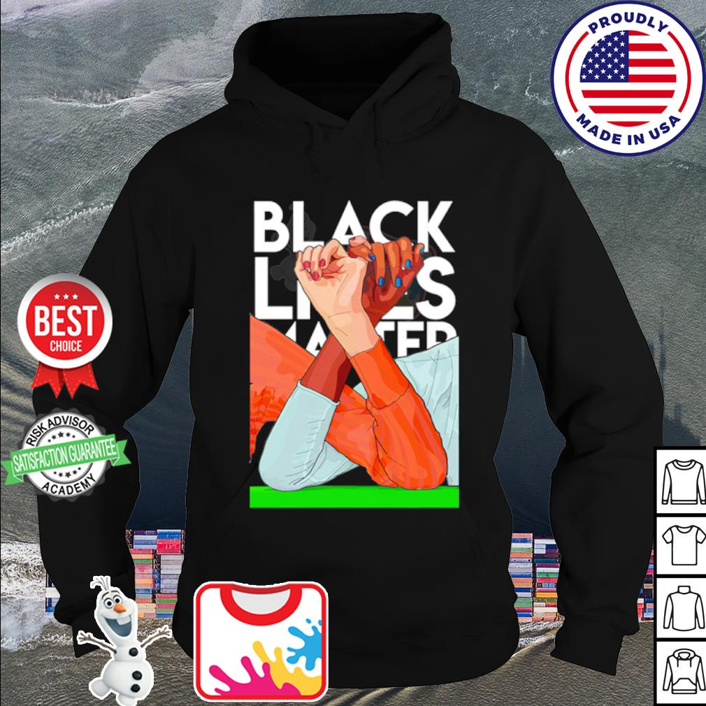 Strong hand black lives matter 2020 s hoodie