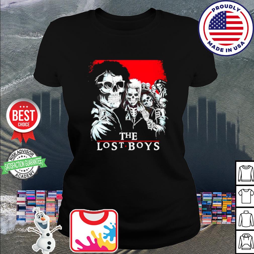 The Lost Boys Skull s ladies tee