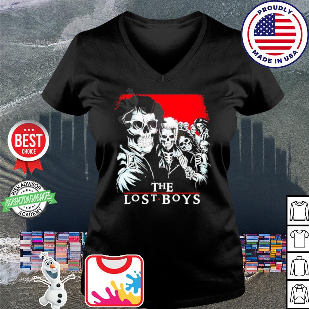 The Lost Boys Skull s v-neck t-shirt