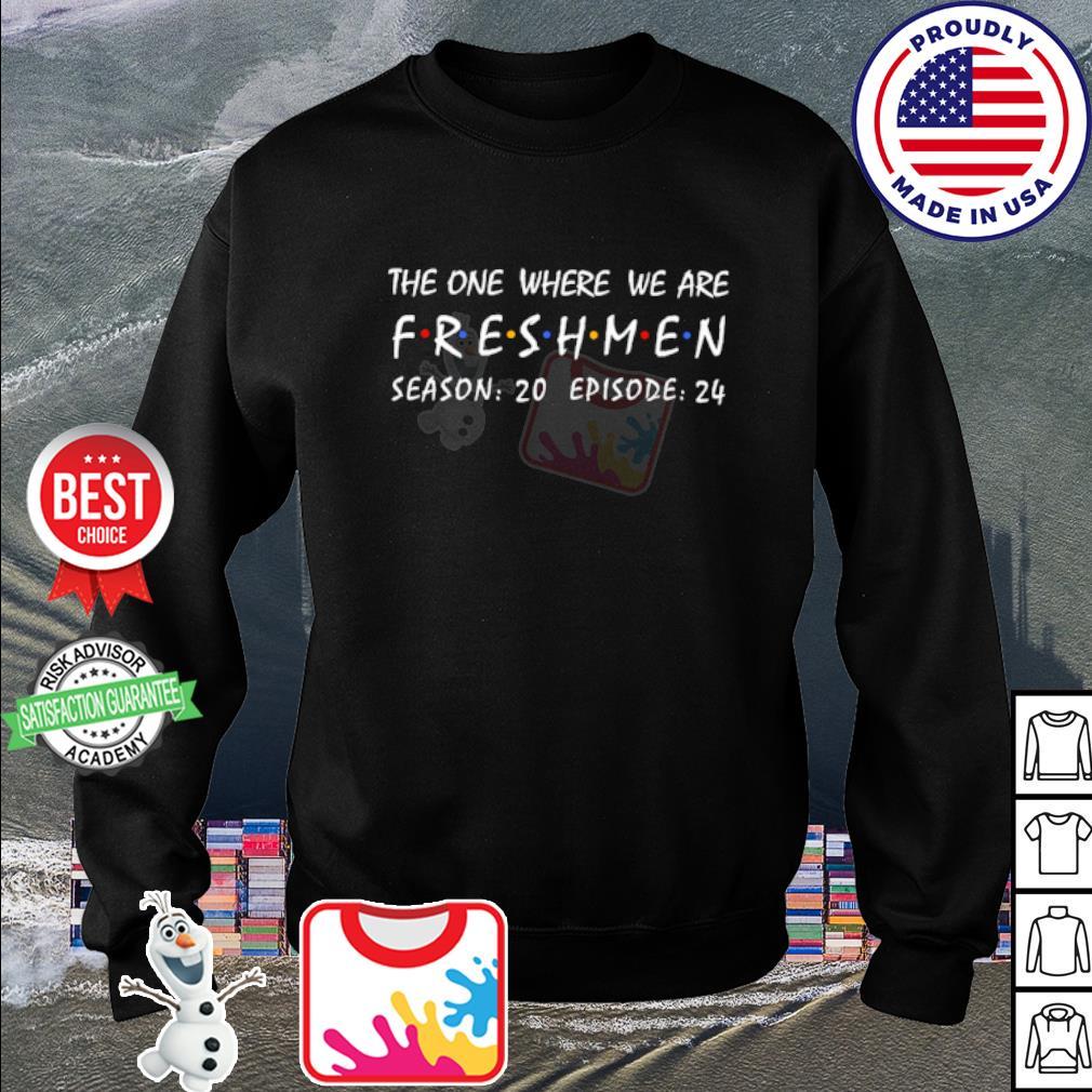 The one where we are freshmen season 20 episode 24 s sweater