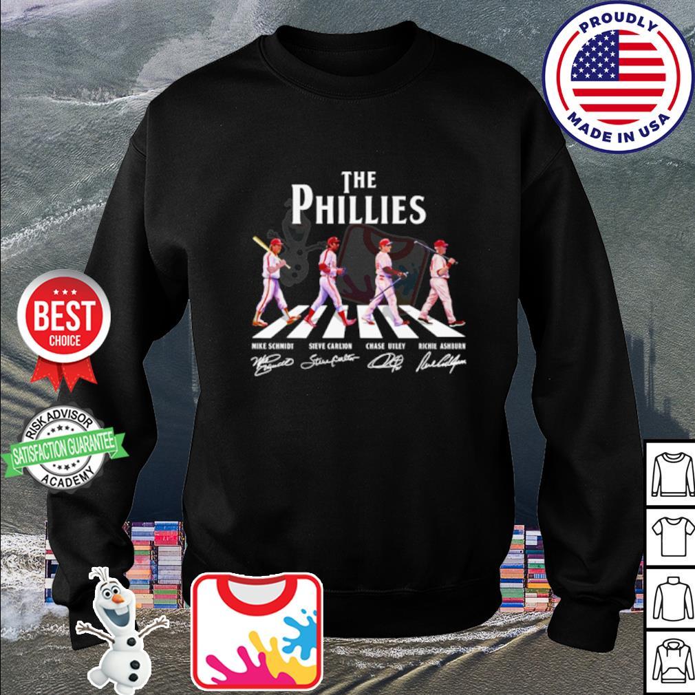 The Philadelphia Phillies Abbey Road signatures s sweater
