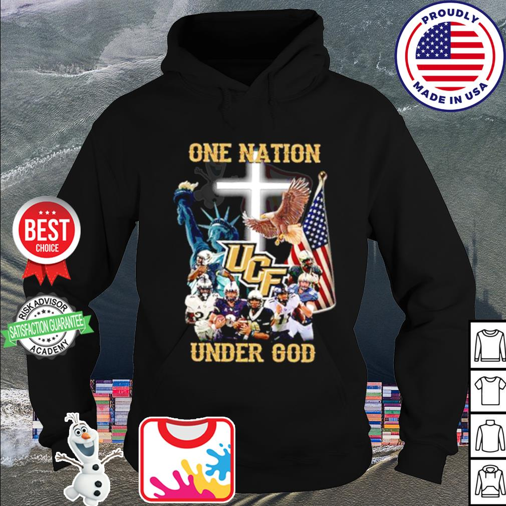 UCF Knights one nation under god American falg s hoodie