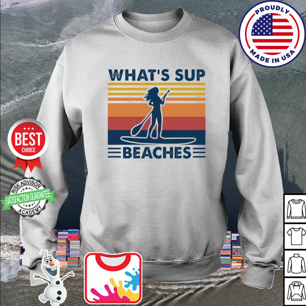 What's sup Beaches woman vintage s sweater