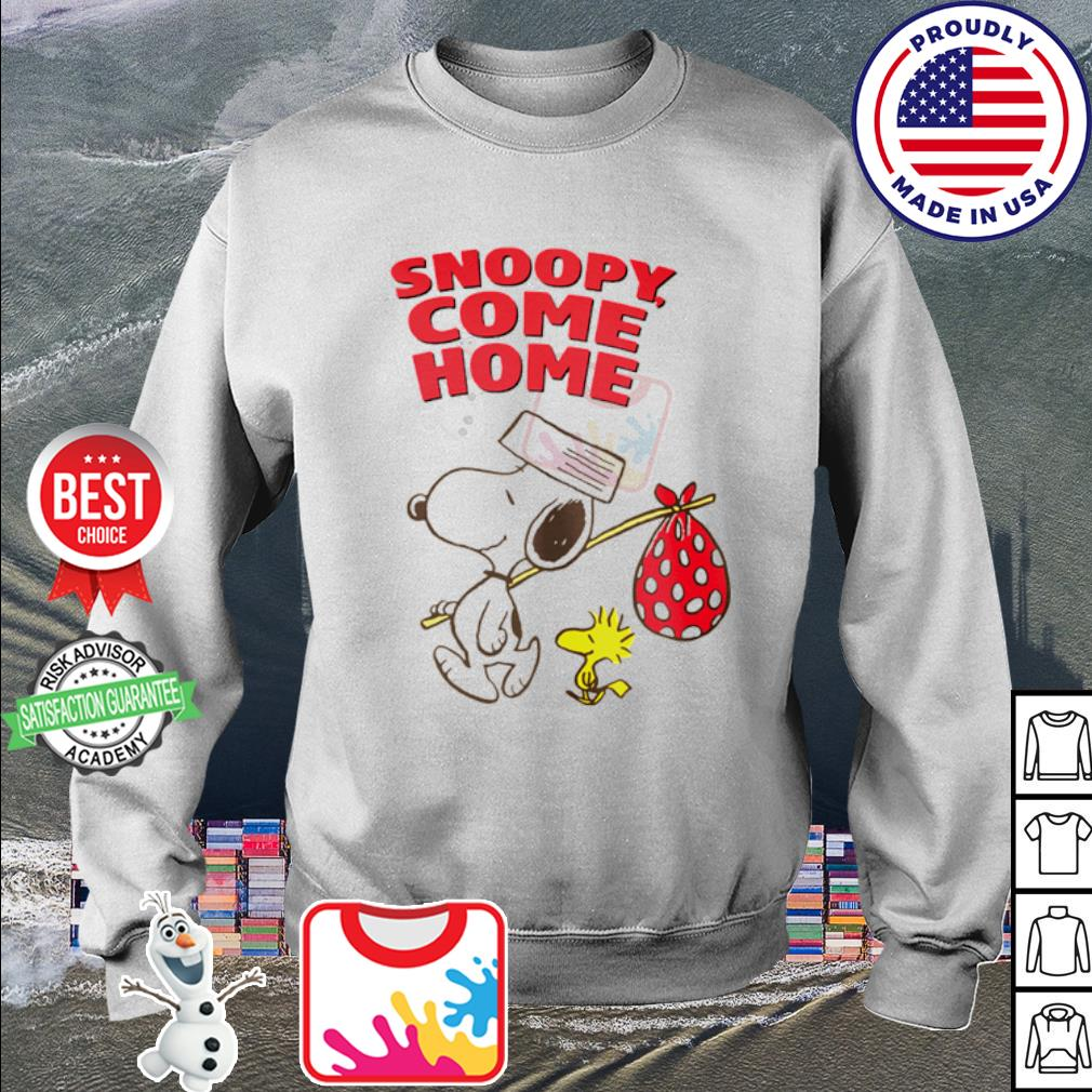 Woodstock and Snoopy come home s sweater