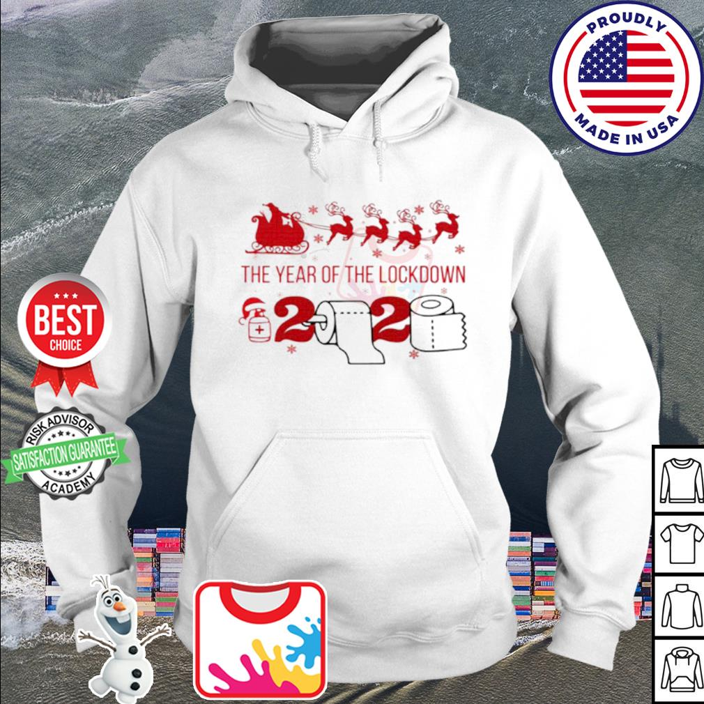 2020 toilet paper the year of the lockdown Christmas s hoodie