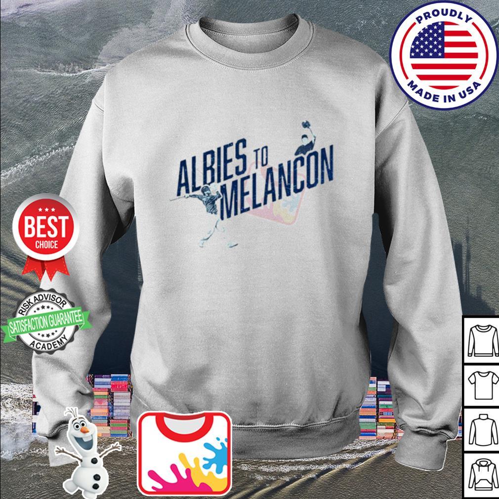 Albies to Melancon s sweater