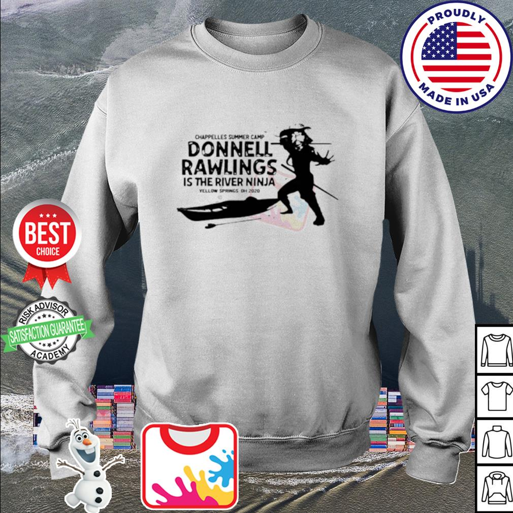 Chappelle's summer camp donnell rawlings is the river ninja s sweater