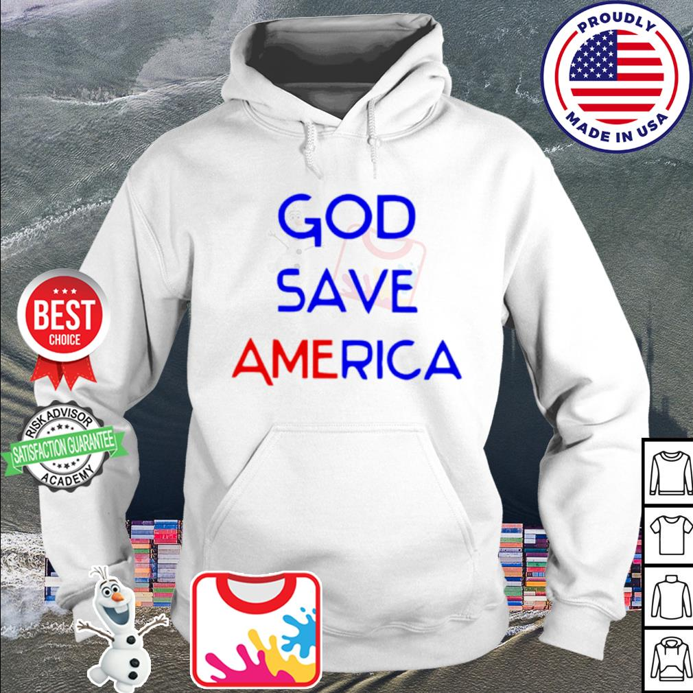 God save america s hoodie