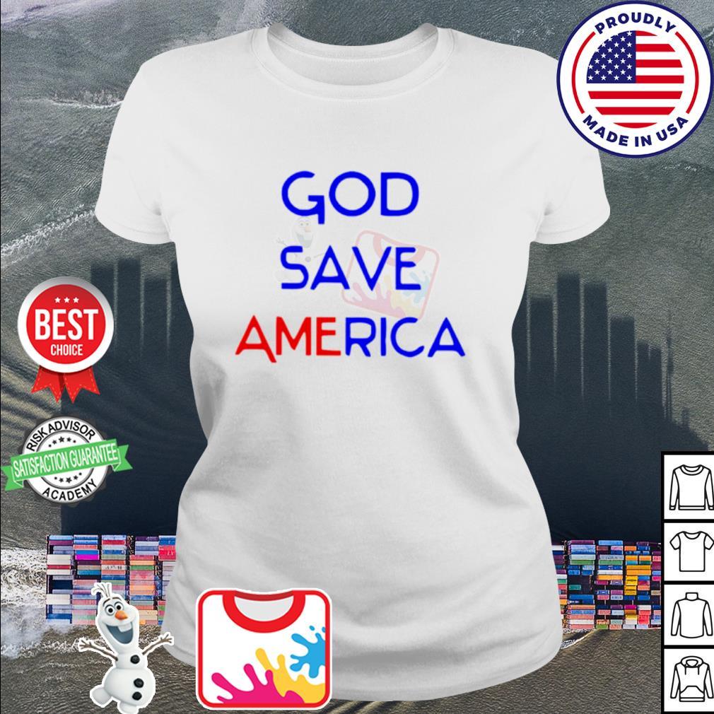 God save america s ladies-tee