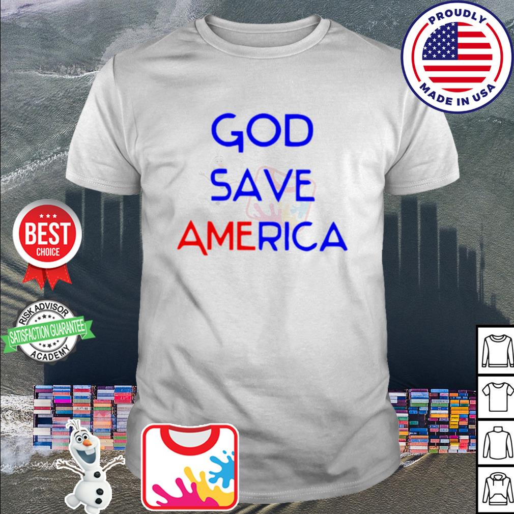 God save america shirt