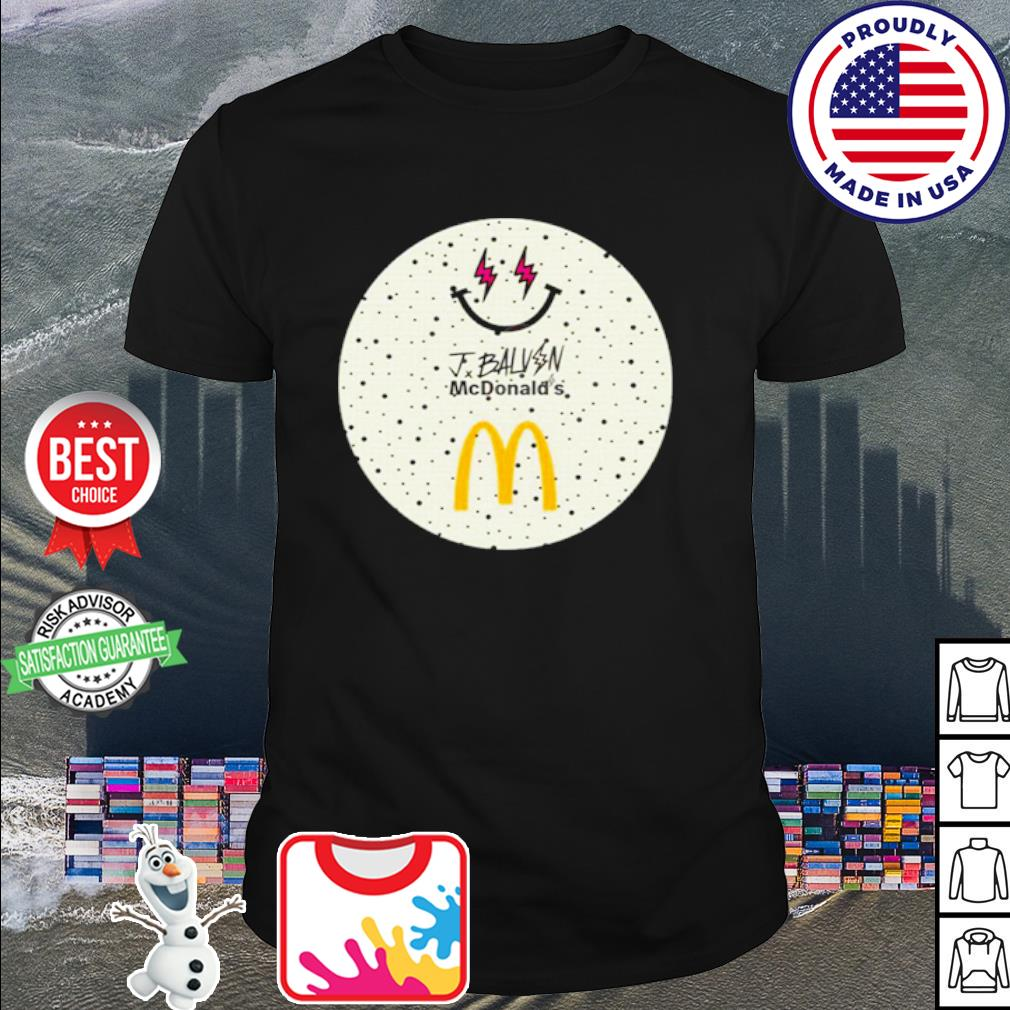 Jbalvin Merch JBalvin x McDonald's Ice Cream shirt