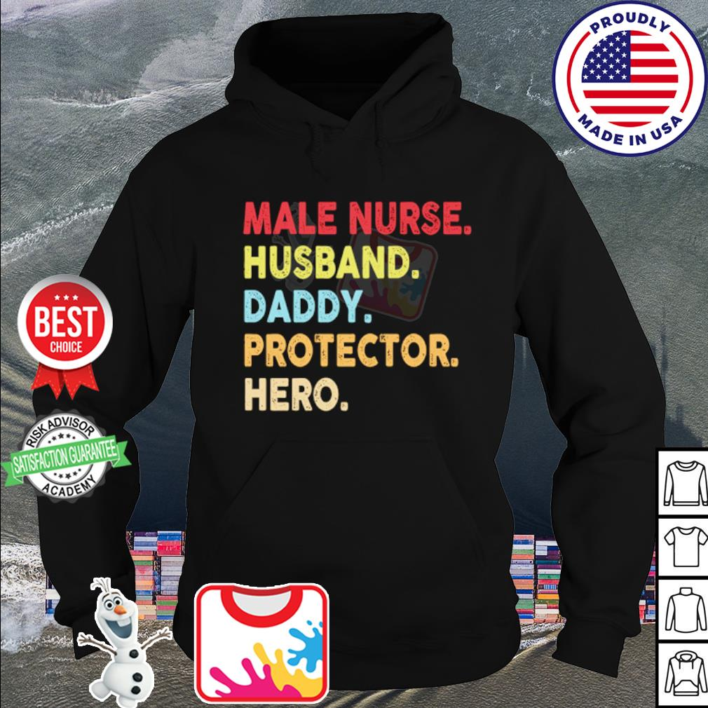 Male nurse husband daddy protector hero s hoodie