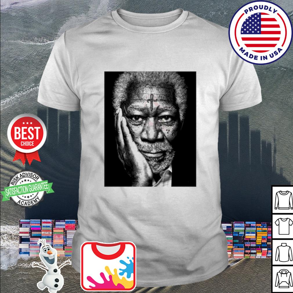 Morgan Freeman Photographed shirt