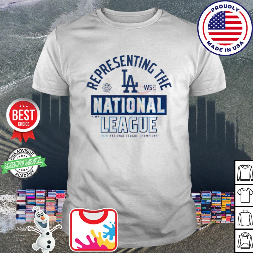 Representing the Los Angeles dodgers national League Champions 2020 shirt