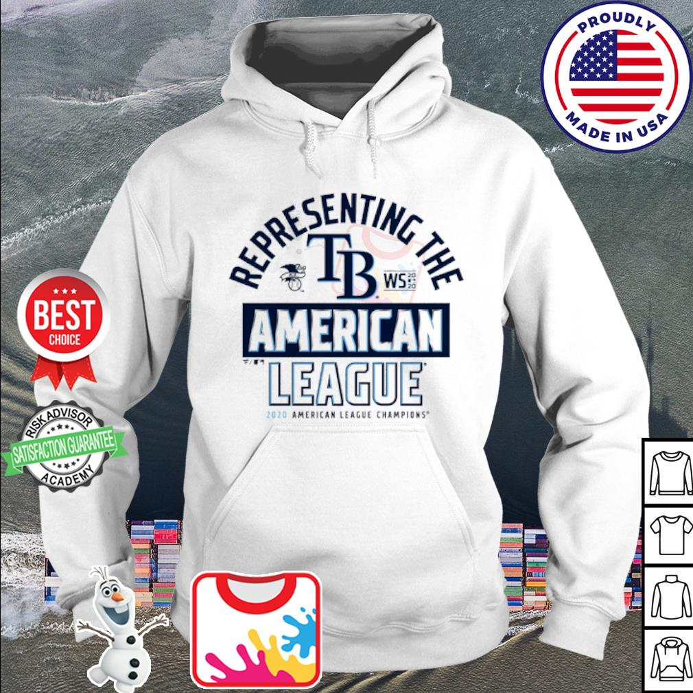 Representing the Tampa Bay Rays national League Champions 2020 s hoodie