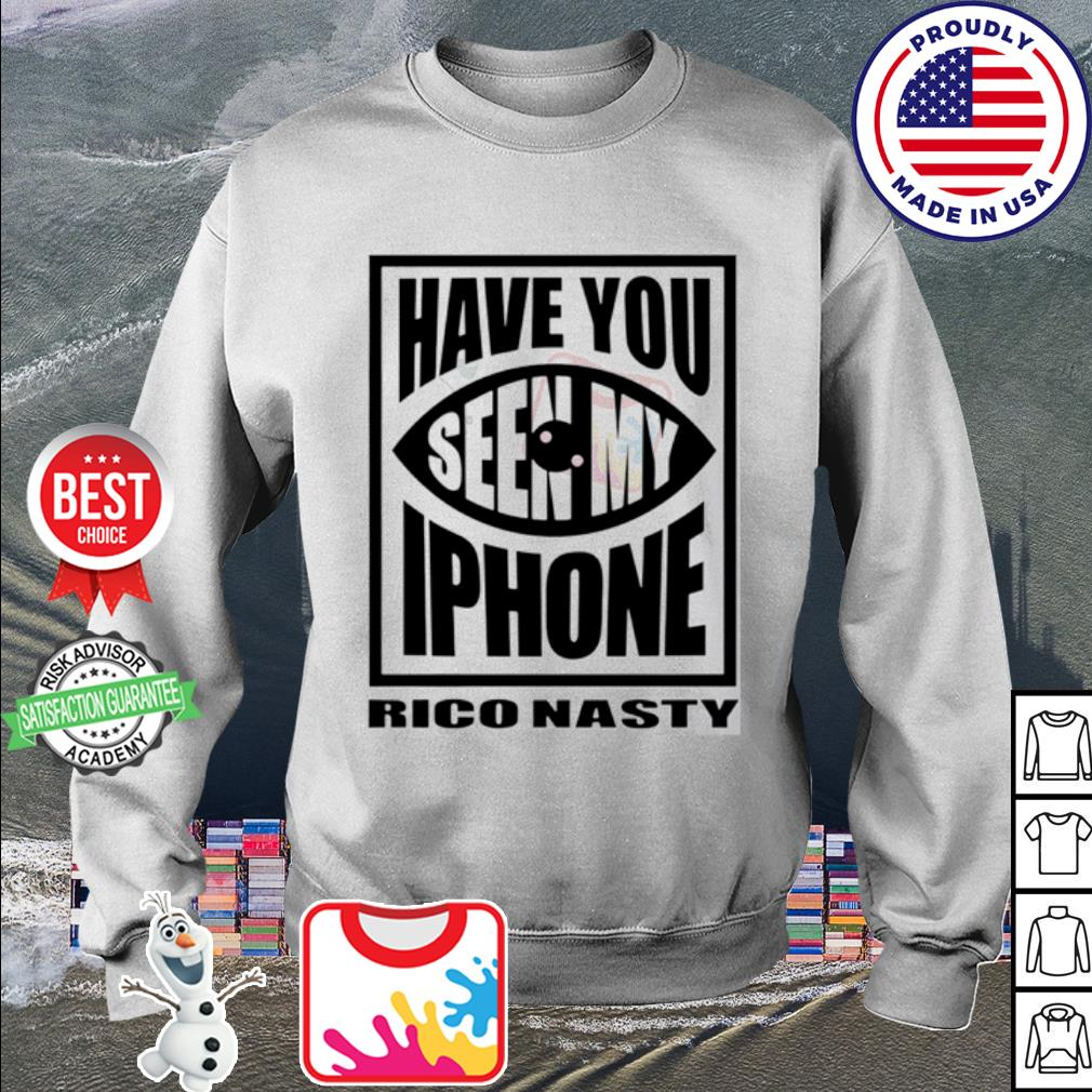 Rico nasty have you seen my iPhone s sweater