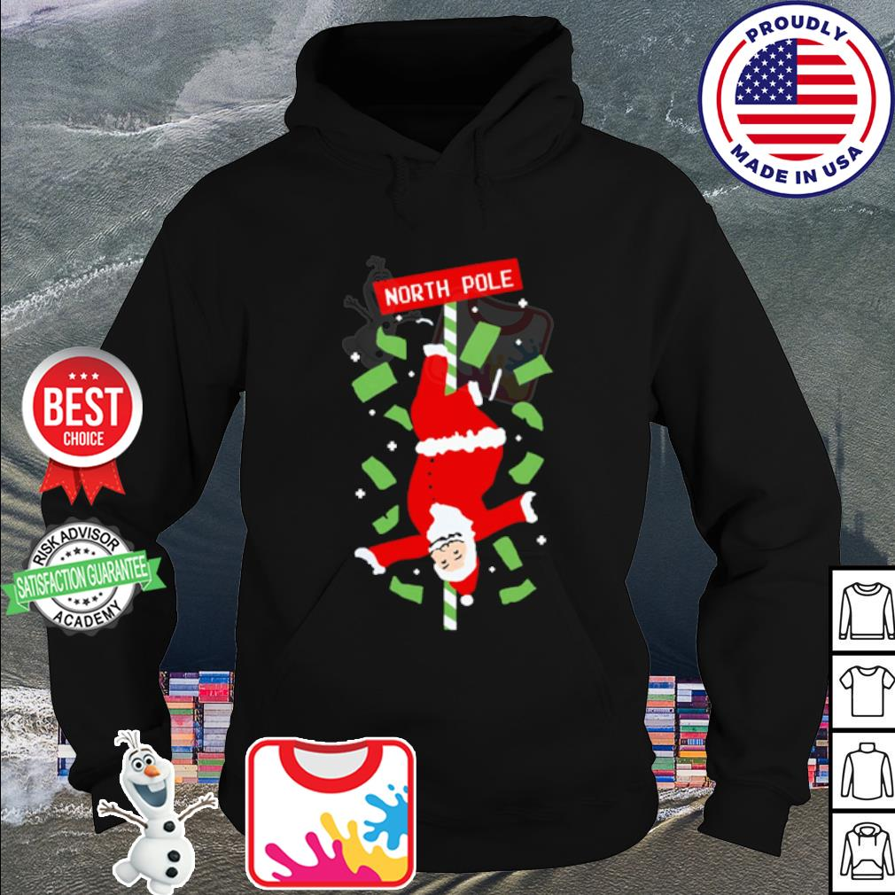 Santa Claus North Ugly Christmas s hoodie