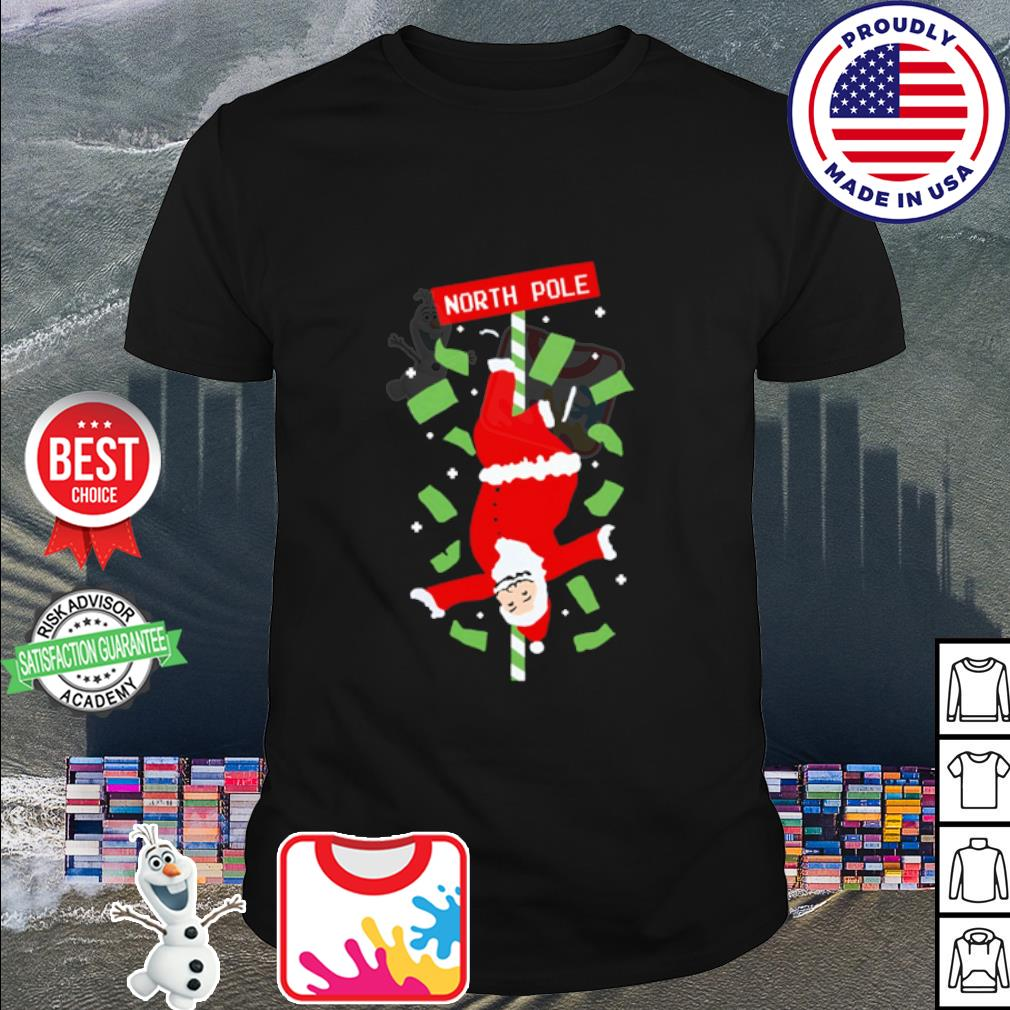 Santa Claus North Ugly Christmas shirt