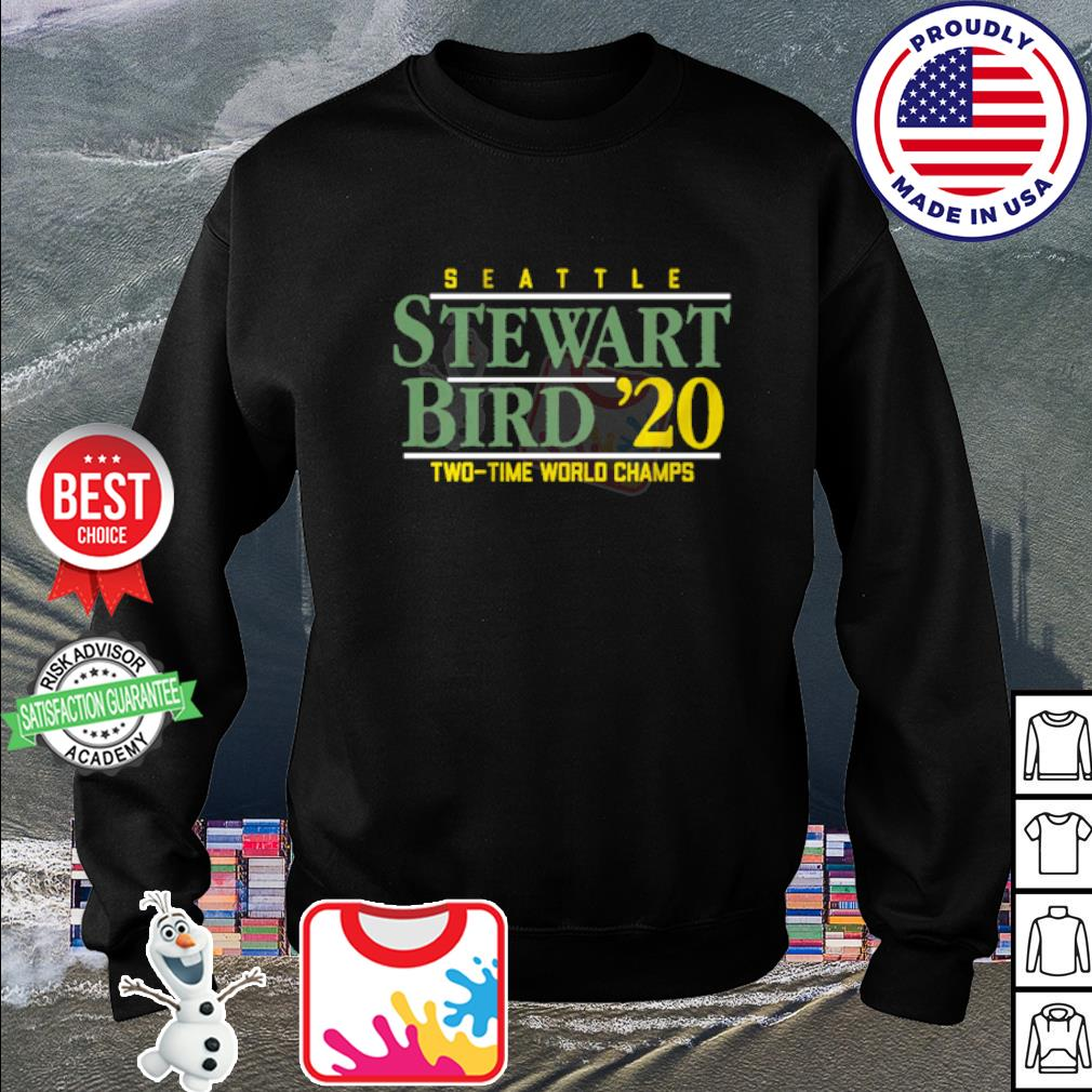 Seattle Stewart Bird 2020 Two time world Champs s sweater