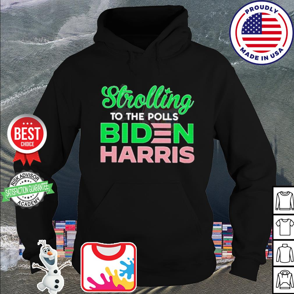 Stroll to the holls Joe Biden harris s hoodie