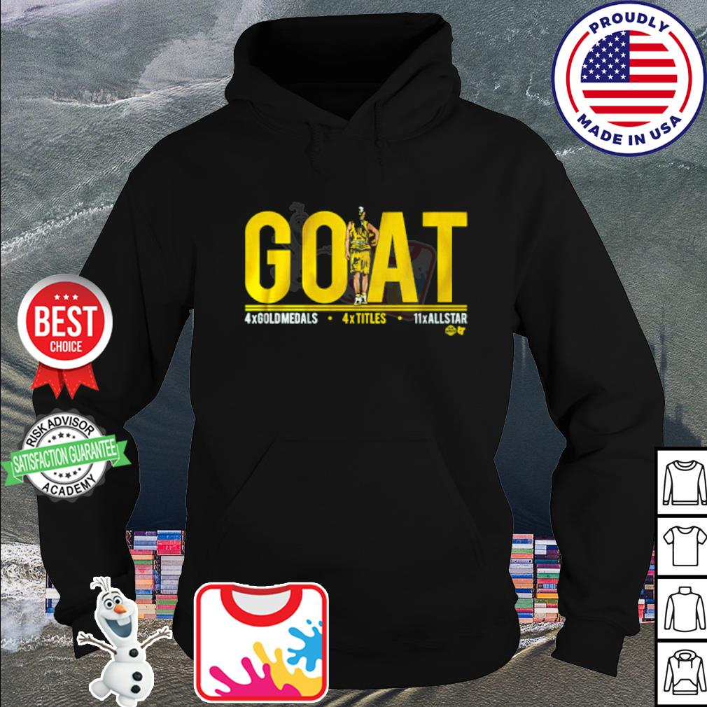 Sue Bird goat s hoodie
