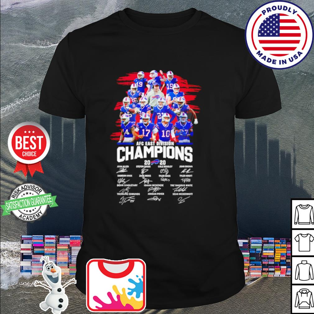 Buffalo Bills Afc East Division Champions 2020 Shirt Hoodie Sweater Long Sleeve And Tank Top