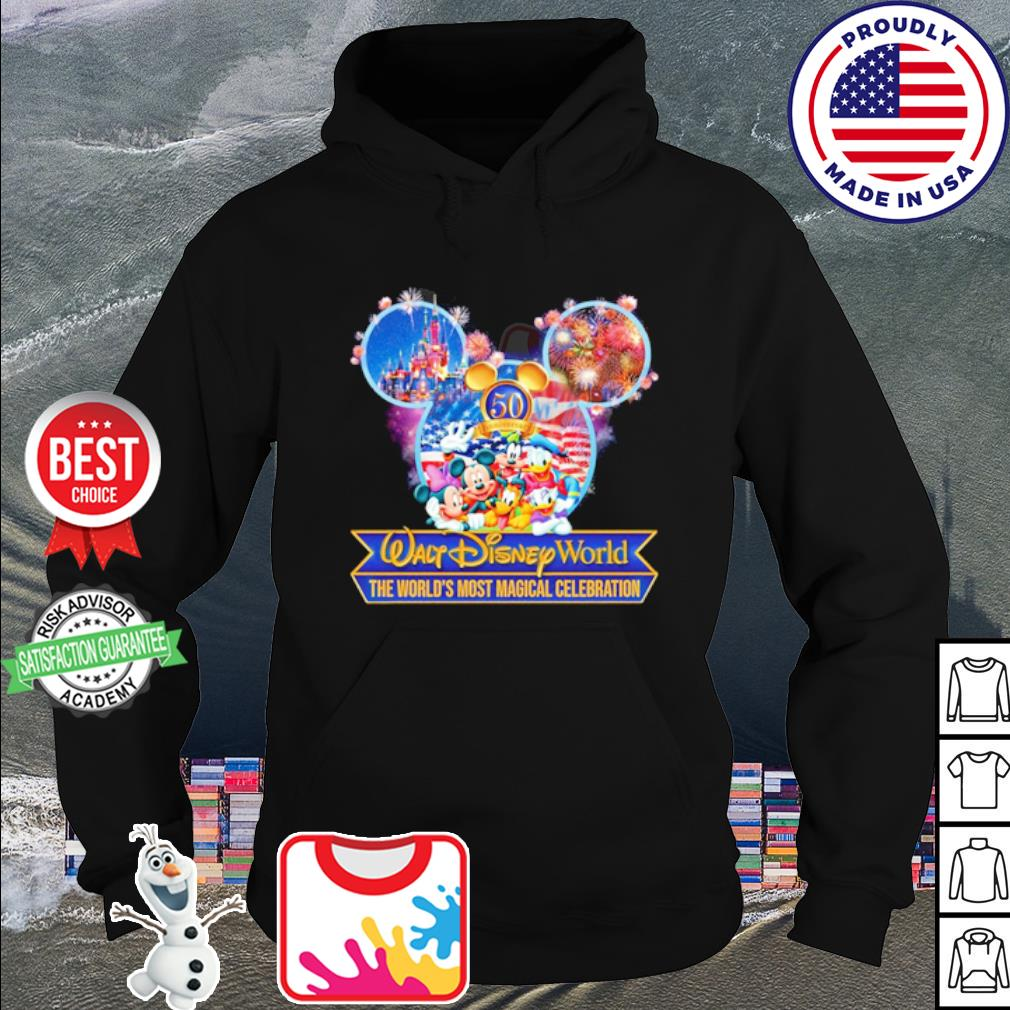 50 anniversary Walt Disney World the world's most magical celebration s hoodie